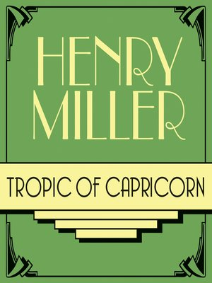 cover image of Tropic of Capricorn